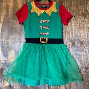 Christmas elf dress